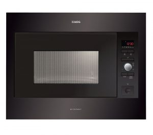 Black AEG MC2664E-B Built-in Solo Microwave Review
