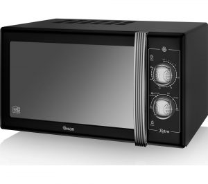Black Swan Retro SM22070BN Solo Microwave Review