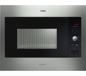 Stainless Steel AEG MC2664E-M Built-in Solo Microwave Review