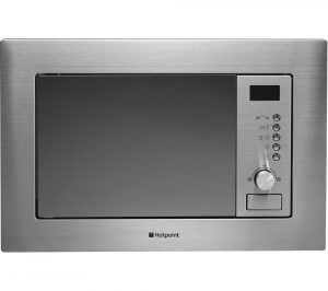 Stainless Steel Hotpoint MWH1221X Built-in Microwave with Grill Review