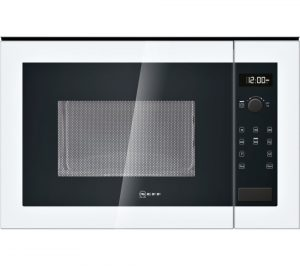 White Neff H12WE60W0G Built-in Solo Microwave Review