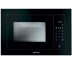 Smeg FME120N Linea Style Built-in Microwave with Grill Review
