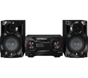 Black Panasonic SC-AKX200E-K Megasound Hi-Fi System Review