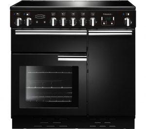 Black and Chrome Rangemaster Professional 90 Electric Ceramic Range Cooker Review