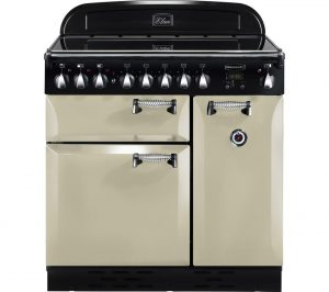 Cream and Chrome Rangemaster Elan 90 Electric Induction Range Cooker Review