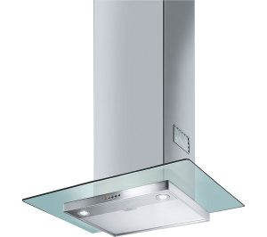 Stainless Steel and Glass Smeg KFV62DE Chimney Cooker Hood Review