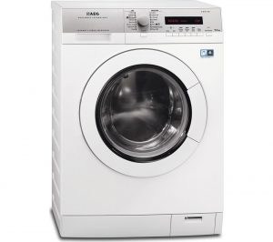 White AEG L77695NWD Washer Dryer Review