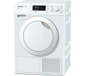 White Miele TKB550 Heat Pump Tumble Dryer Review
