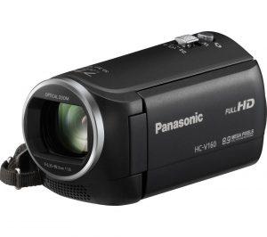 Black Panasonic HC-V160EB-K Full HD Camcorder Review