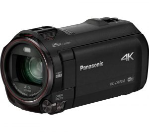 Black Panasonic HC-VX870EB-K 4k Ultra HD Camcorder Review