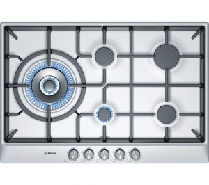 Brushed Steel Bosch PCS815B90E Gas Hob Review