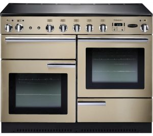 Cream and Chrome Rangemaster Professional 110 Electric Induction Range Cooker Review