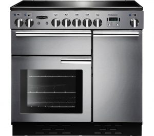 Stainless Steel and Chrome Rangemaster Professional 90 Electric Ceramic Range Cooker Review