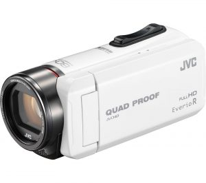 White JVC GZ-R415WEK Traditional Camcorder Review