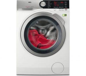 White AEG OkoMix L8FEC846R Washing Machine Review