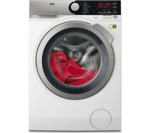 White AEG OkoMix L8FEE965R Washing Machine Review