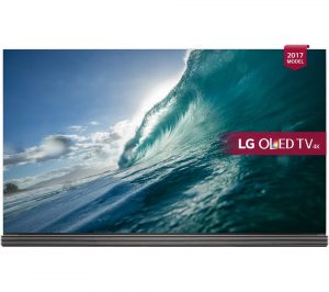Gold and Wine LG OLED77G7V 77 inch Smart 4K HDR OLED TV Review