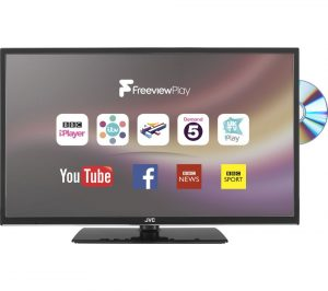 JVC LT-32C675 32 inch Smart LED TV with Built-in DVD Player Review