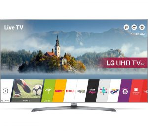 LG 65UJ750V 65 inch Smart 4K Ultra HD HDR LED TV Review