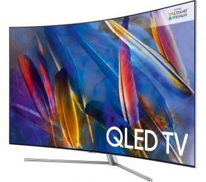 Samsung QE55Q7CAMT 55 inch Smart 4K Ultra HD HDR Curved Q LED TV Review