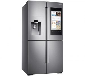 Real Stainless Samsung Family Hub RF56M9540SR/EU American-Style Smart Fridge Freezer Review