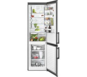Silver and Stainless Steel AEG RCB53724MX Fridge Freezer Review