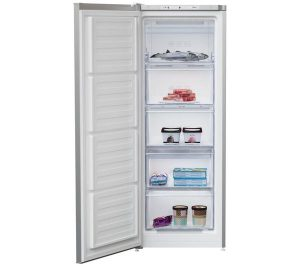 White and Silver Beko FXFG1545S Tall Freezer Review