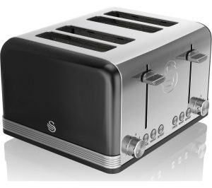 Black Swan Retro ST19020BN 4-Slice Toaster Review
