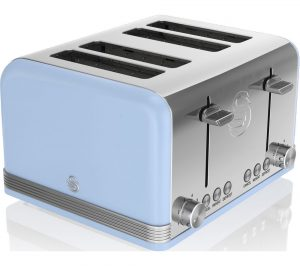 Blue Swan Retro ST19020BLN 4-Slice Toaster Review