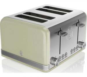 Green Swan Retro ST19020GN 4-Slice Toaster Review