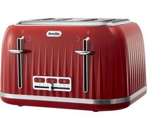 Venetian Red Breville Impressions VTT783 4-Slice Toaster Review