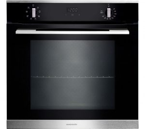 Black and Stainless Steel Rangemaster RMB608BL/SS Electric Oven Review