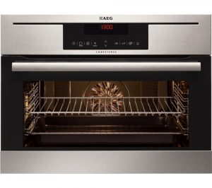 Stainless Steel AEG KP8404021M Compact Electric Oven Review