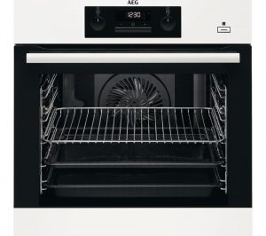 White AEG BEB351010W Electric Oven Review