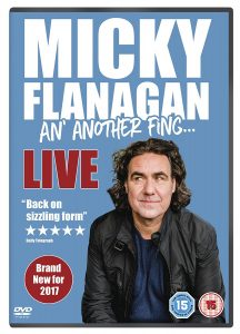 Micky Flanagan: An' Another Fing Live DVD Review