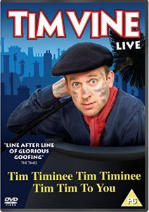 Tim Vine Live: Tim Timinee Tim Timinee Tim Tim To You DVD Review