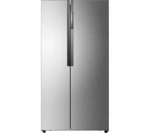 silver haier hrf 521ds6 american style fridge freezer review fridge freezers. Black Bedroom Furniture Sets. Home Design Ideas