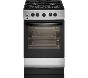 Silver and Black Essentials CFSGSV17 50 cm Gas Cooker Review