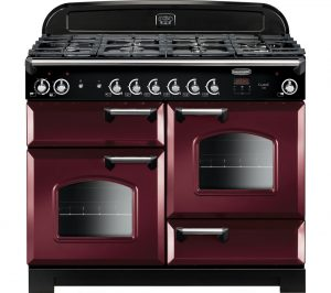 Cranberry and Chrome Rangemaster Classic CLA110DFFCY/C 110 cm Dual Fuel Range Cooker Review