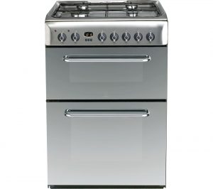 Mirror and Stainless Steel Indesit KDP60SES 60 cm Dual Fuel Cooker Review