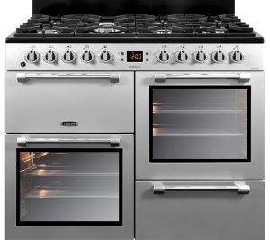 Silver and Chrome Leisure Cookmaster 100 CK100F232S 100 cm Dual Fuel Range Cooker Review