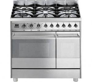 Stainless Steel Smeg C92GPX8 90 cm Dual Fuel Range Cooker Review