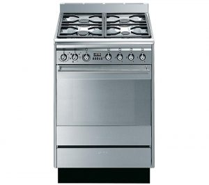 Stainless Steel Smeg SUK61MX8 Dual Fuel Cooker Review