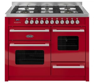 Gloss Red and Stainless Steel Britannia Delphi 110 RC11XGGDERED Dual Fuel Range Cooker Review