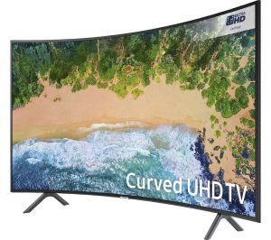 Samsung UE65NU7300 65 inch Smart 4K Ultra HD HDR Curved LED TV Review
