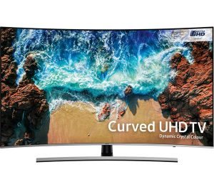 Samsung UE65NU8500 65 inch Smart 4K Ultra HD HDR Curved LED TV Review