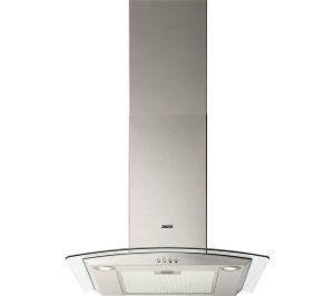 Stainless Steel Zanussi ZHC6235X Chimney Cooker Hood Review