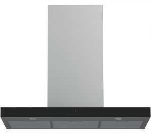 Stainless Steel and Black Grundig GDK5774BB Chimney Cooker Hood Review