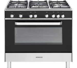 Black Kenwood CK305G Gas Range Cooker Review