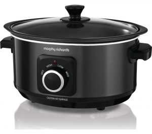 Black Morphy Richards Evoke Sear and Stew 460012 Slow Cooker Review